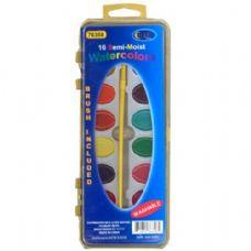 48 Units of Water color semi moist 16p Colors - Paint/Paint Brushes/Finger Paint