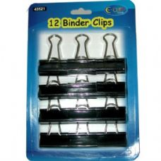 48 Units of Binder Clips - CLIPS/FASTENERS