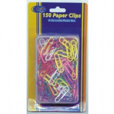 48 Units of Color Paper Clips 150ct - CLIPS/FASTENERS