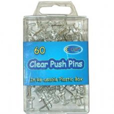 48 Units of Push Pins 60ct - Push Pins and Tacks