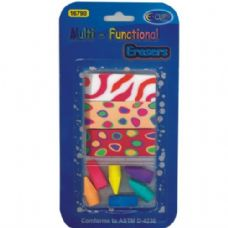 48 Units of Multi-functional Erasers 9pk - ERASERS