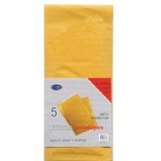 48 Units of Bubble Envelopes, Peel & Seal, 4x8, 5 Pk. - Envelopes