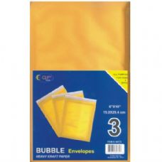 """48 Units of Bubble Mailers - 6"""" x 10"""" - 3 pack - Envelopes"""