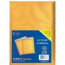 48 Units of Bubble Envelope, Peel & Seal, 8.5x11, 2 Pk. - Envelopes