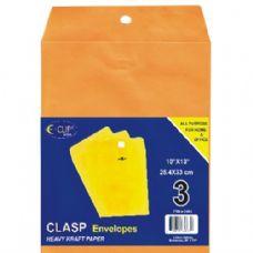 48 Units of Clasp Envelopes, 10x13, 3 Pk. - Envelopes
