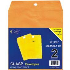 48 Units of Clasp Envelopes, 10x15, 2 Pk. - Envelopes