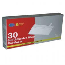 36 Units of E-Clips Self Adhesive Envelope # 10 30Ct - Envelopes