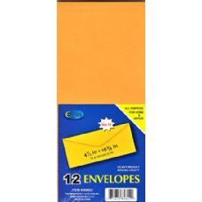 48 Units of Kraft Envelopes # 11 12 Pack - Envelopes