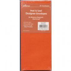 100 Units of Peel & Seel Designer Envelope - Orange - Envelopes
