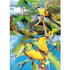 20 Units of 3D Picture-Birds In Trees - 3D Pictures