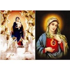20 Units of 3D Picture-Mary Surrounded by Angels - 3D Pictures