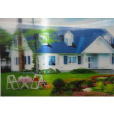 20 Units of 3D Picture-Summer House - 3D Pictures