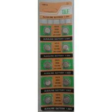 120 Units of 10pk AG10 Batteries - Batteries