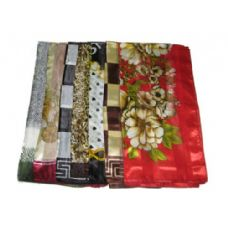 180 Units of SQUARE SILK SCARF - Womens Fashion Scarves