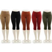 48 Units of Ladies Capri Pants - Womens Capri Pants