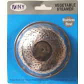 24 Units of Stainless Steel Vegetable Steamer - Kitchen Gadgets & Tools