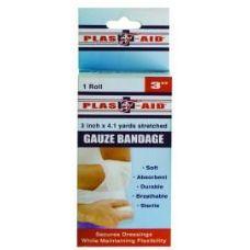 """72 Units of Gauze Bandage 3"""" x 4.1 yards - Bandages and Support Wraps"""