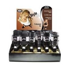 144 Units of Style Pro Proline Hairbrush in Display Box (4 Displays) - Hair Brush
