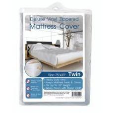 24 Units of Heavy Duty Zippered Mattress Cover - Full
