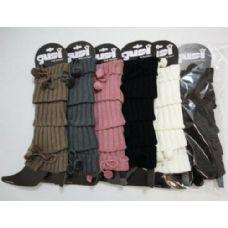 48 Units of Leg Warmers--Tie & PomPoms [P] - Arm & Leg Warmers