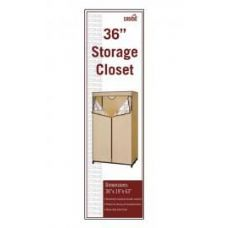 6 Units of STORAGE CLOSET BEIGE AND BROWN - Storage & Organization