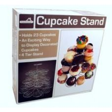 6 Units of 4 Tier Stand, Holds 23 Cupcakes