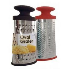 24 Units of Stainless Steel  Oval Grater - Kitchenware