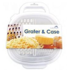 24 Units of Stainless Steel Grater & Storage Case - Kitchenware