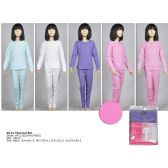 48 Units of GIRLS THERMAL ASSORTED COLOR AND SIZES - Girls Underwear and Pajamas