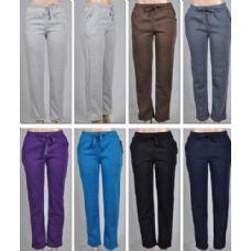 48 Units of LAIDES FLEECE LINED PANTS -PLAIN 2 POCKETS - Ladies Lingerie / Sleep Wear