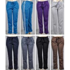 48 Units of LAIDES PANTS STRIPE & 2 POCKET - Ladies Lingerie & Sleep Wear