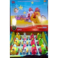 72 Units of Wind up Chicken Toy - Toy Sets