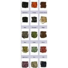 36 Units of Sling Purses Soft Leather Crossbody Bag Assorted Colors - Leather Purses and Handbags
