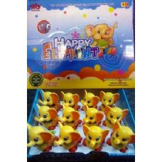 24 Units of Wind Up Toys Elephone - Toy Sets