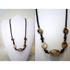 48 Units of Hematite Handmade Shell Neckalce - Necklace