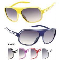 120 Units of Kids Plastic Sports Sunglasses Assorted - Sport Sunglasses