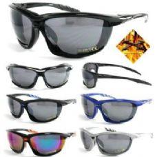 120 Units of Motorcycle Foam Sports Sunglasses 1005 - Sport Sunglasses