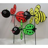 """36 Units of 16"""" 3D Wind Spinner [Bug/Bee/Bunny] - Wind Spinners"""