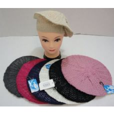 12 Units of Knit Beret [Loose Knit]