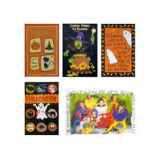 288 Units of halloween card asstd