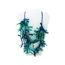 24 Units of turquoise knotted necklace - Necklace