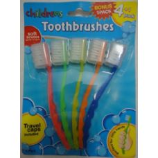 36 Units of 5pc Kids Toothbrush