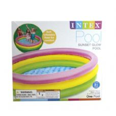 6 Units of SUNSET GLOW POOL - Summer Toys