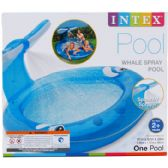 "6 Units of 82""x62"" WHALE SPRAY POOL, AGE 2+, IN COLOR BOX - Summer Toys"