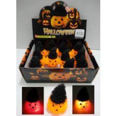 48 Units of Light Up Jack-O-Lantern Spike To - Light Up Toys