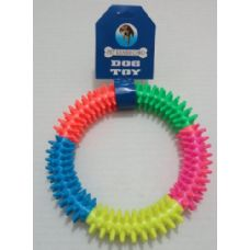 """24 Units of 6"""" Round Pet Chew Ring - Pet Toys"""