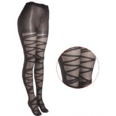 36 Units of Ladies Printed Tights - Womens Tights