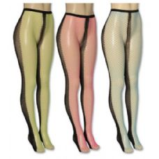 36 Units of Ladies Assorted Color Tights - Womens Tights