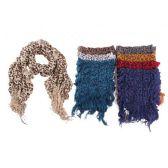 48 Units of Ladies Fashion Infinity Scarf Leopard Print - Womens Fashion Scarves