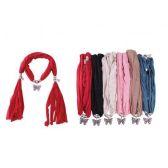 48 Units of Ladies Pendant Fashion Scarf - Womens Fashion Scarves